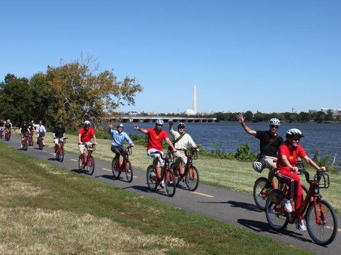 Capital Bikeshare in Washington D.C.
