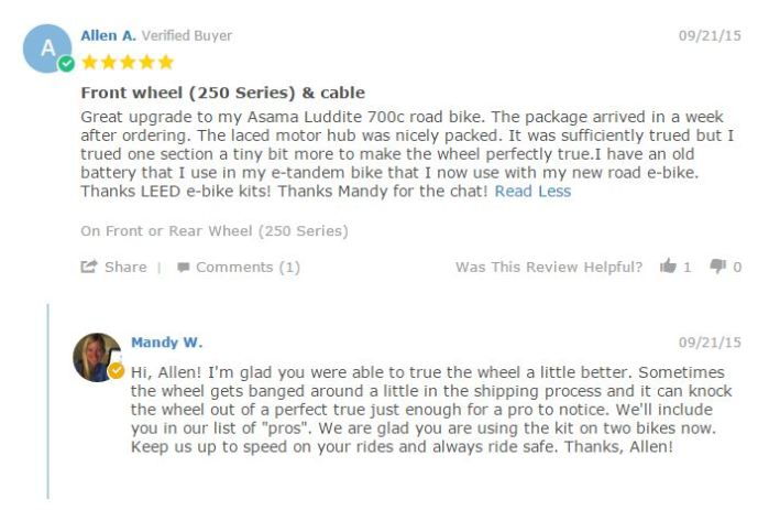 Customer Review 14
